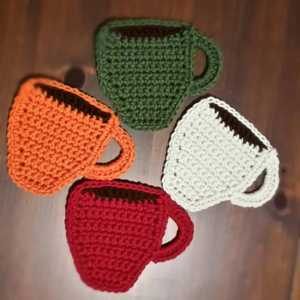 Coffee Cup Coaster Set
