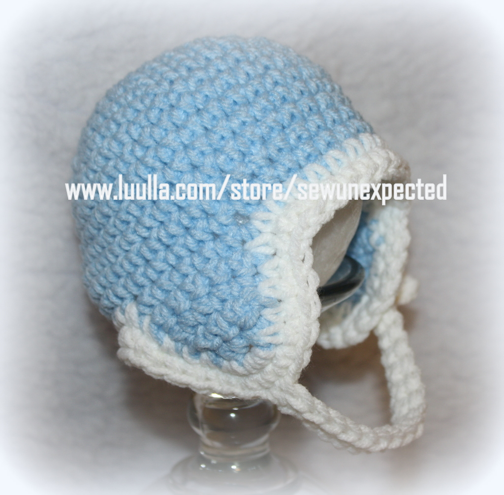 Crochet Football Helmet On Luulla